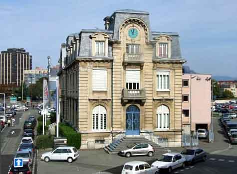 Horloge de la chambre de commerce et d 39 industrie de belfort - La chambre de commerce et d industrie de paris ...