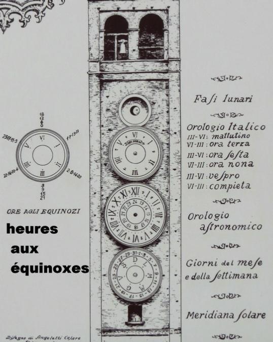 Les cadrans du clocher de l'eglise de Tolentini - Italie As-tolentino%20(8)